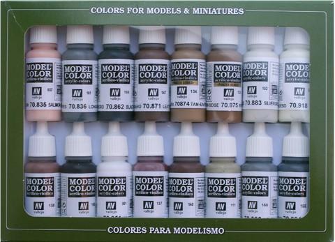 Equestrian Colors Set (x16)