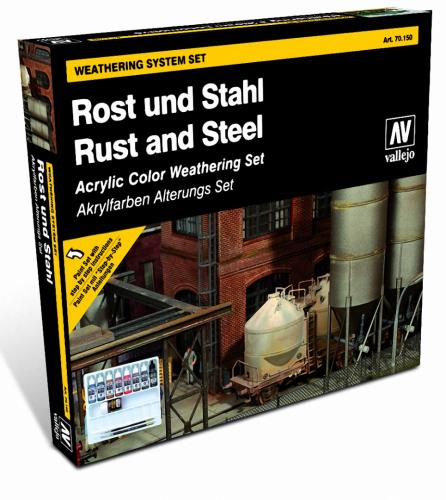 Rust and Steel Effects