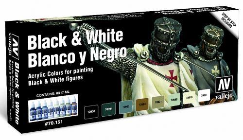 Black & White (x8)