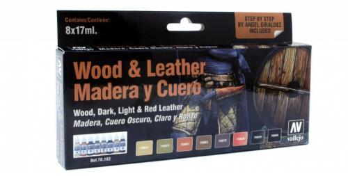 Wood & Leather (x8)