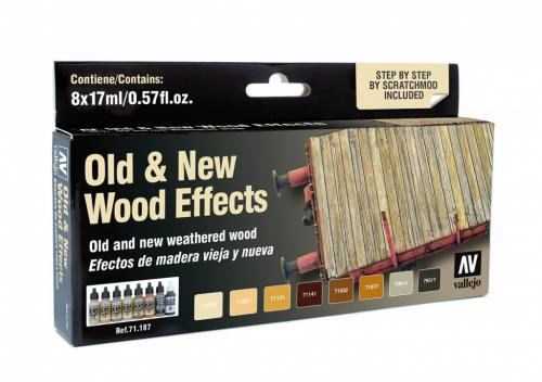 Old and New Wood Effects (x8)