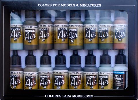 RLM Colors (x16)