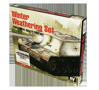 Vallejo Model Color Set - Winter Weathering Set