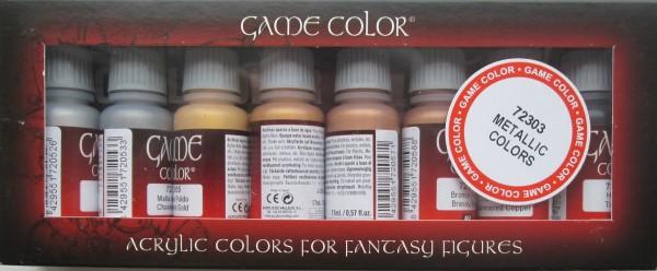 Metallic Colors (x8)