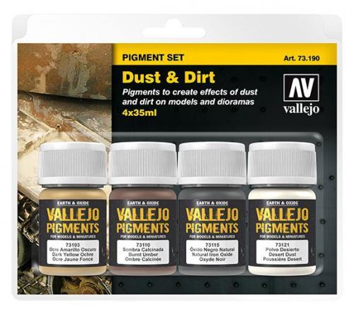 Pigment set (Dust & Dirt)