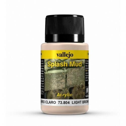 Light Brown Splash Mud