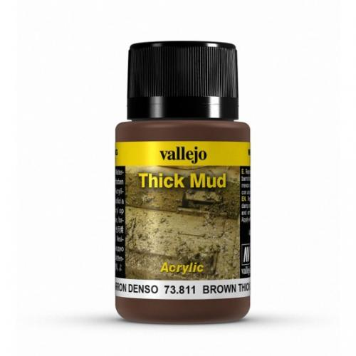 Brown Thick Mud