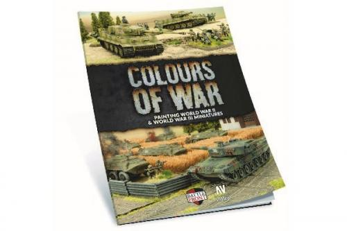 COLOURS OF WAR BOOK- PAINTING WWII&WWIII MINIATURE