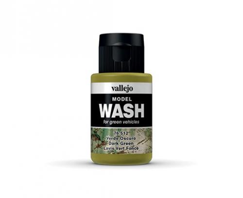 Vallejo Model Wash - Dark Green