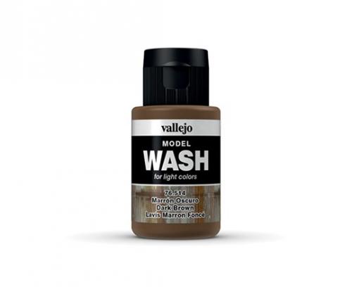 Vallejo Model Wash - Dark Brown