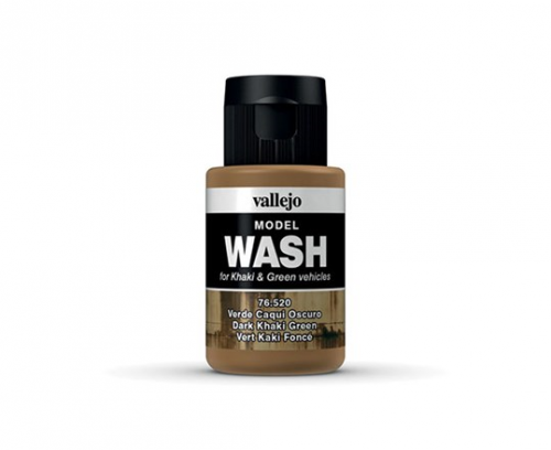 Vallejo Model Wash - Dark Khaki Green