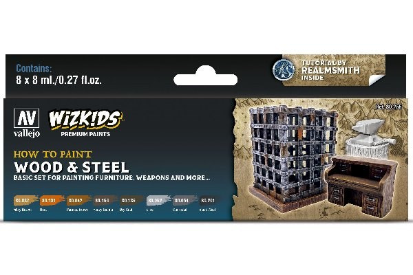 WIZKIDS WOOD AND STEEL