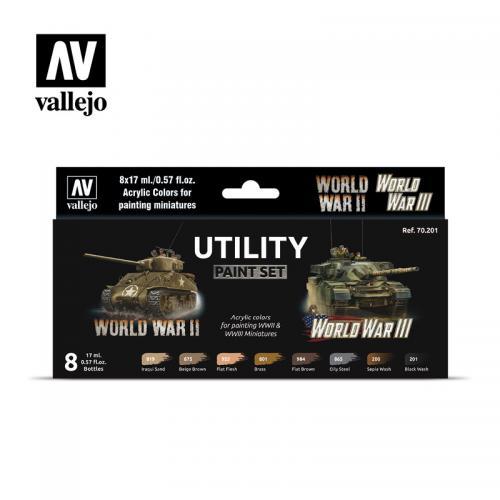 Utility Paint Set WWII & WWIII
