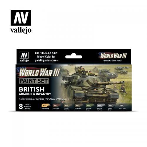 WWIII British Armour & Infantry