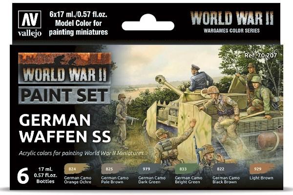WWII GERMAN WAFFEN SS 6X17ML