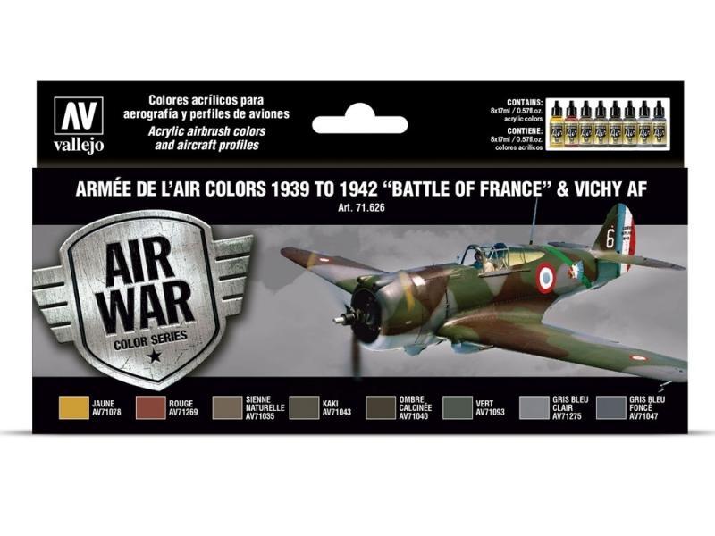 ARMÉE DE L'AIR COLORS 1939-1942 BATTLE OF FRANCE