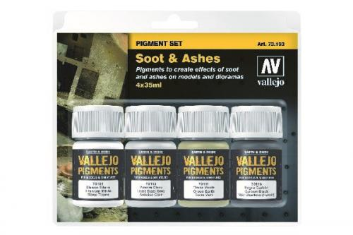 SOOT & ASHES PIGMENT 4X35ML SET