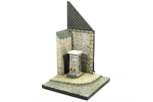 Street Corner with Waterpump Normandy 1/35