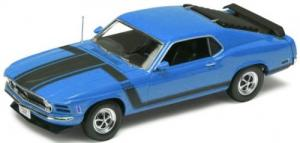 1970 Ford Mustang Boss 302, blue 1/18