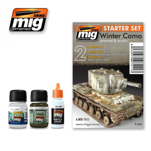 WINTER CAMO - STARTER SET