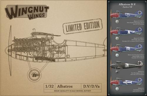"""Albatros D.V """"Jasta 18"""" 1/32"""