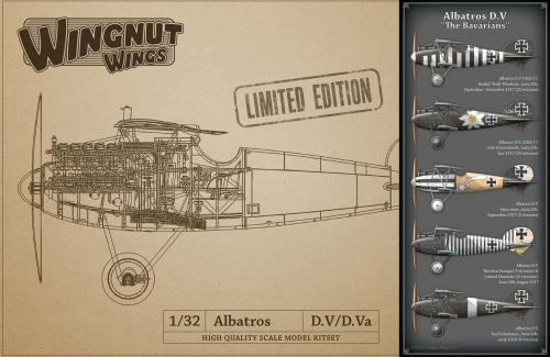 "Albatros D.V ""The Bavarians"" 1/32"