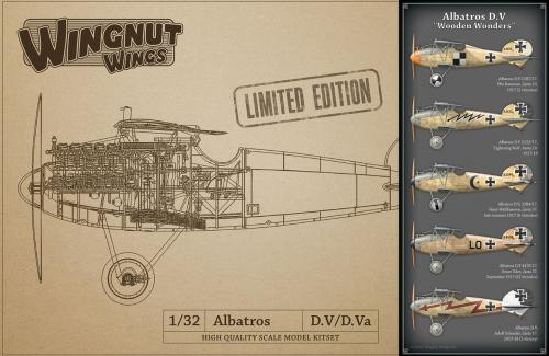 "Albatros D.V ""Wooden Wonders"" 1/32"