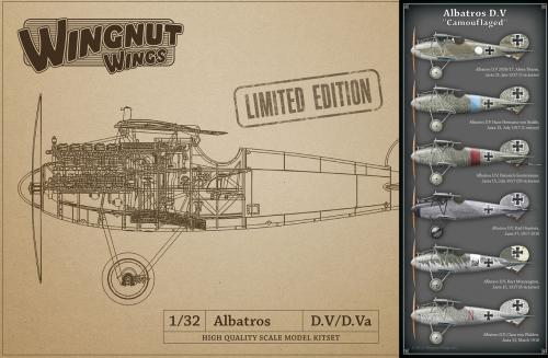 "Albatros D.V ""Camouflaged"" 1/32"