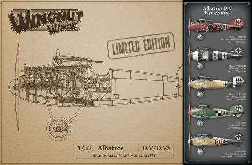"Albatros D.V ""Flying Circus"" 1/32"