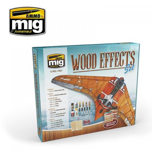 WOOD EFFECTS SET