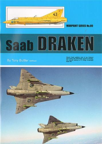 Saab Draken By Tony Buttler