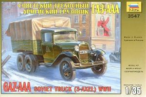 GAZ-AAA Soviet Truck (3-axle) 1/35