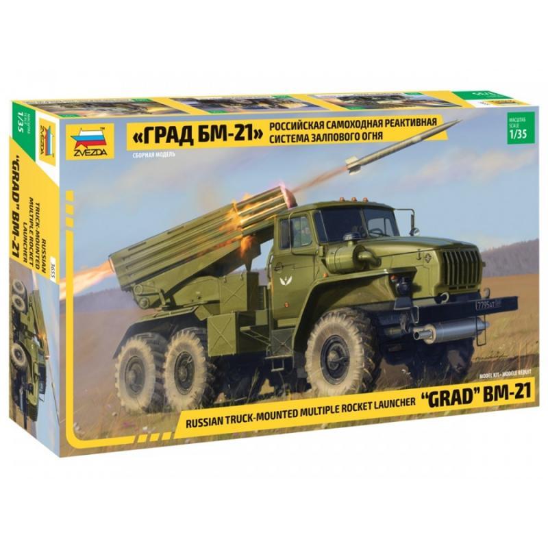 BM-21 Grad Rocket Launcher 1/35