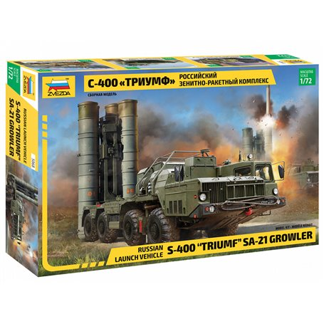 """S-400 """"Triumf"""" Missile System SA 21 Growler 1/72"""