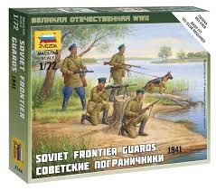 Sov.Frontier Guards - SNAP 1/72