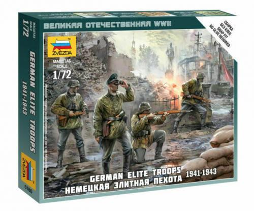 German Elite Troops 1939-43 - SNAP 1/72