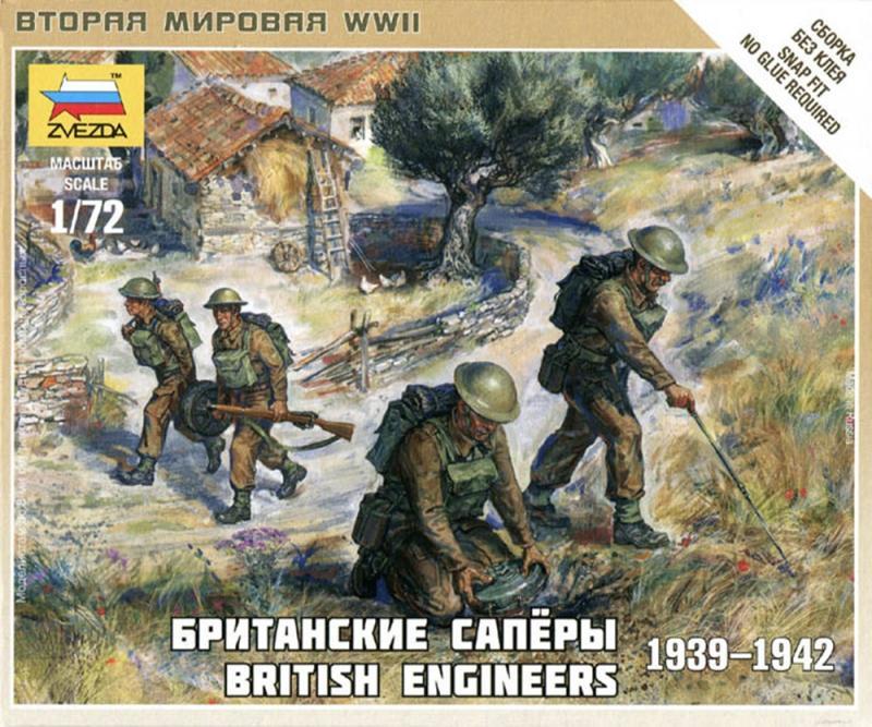 British Engineers - SNAP 1/72