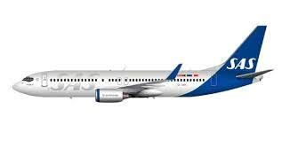 Boeing 737-700/C40 incl. SAS new Livery decal 1/144