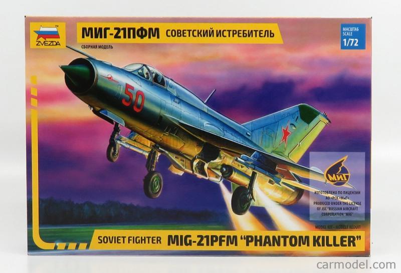 Mig-21 Pfm f. 1/72