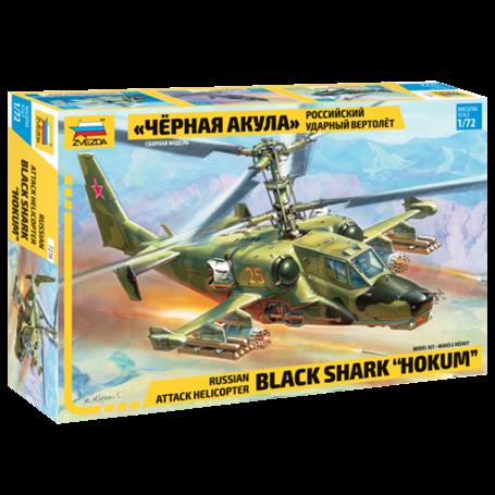 "Russian Attack Helicopter Black Shark ""Hokum"" 1/72"