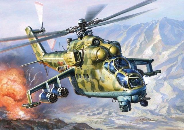 MIL Mi-24B Hind C 1/72