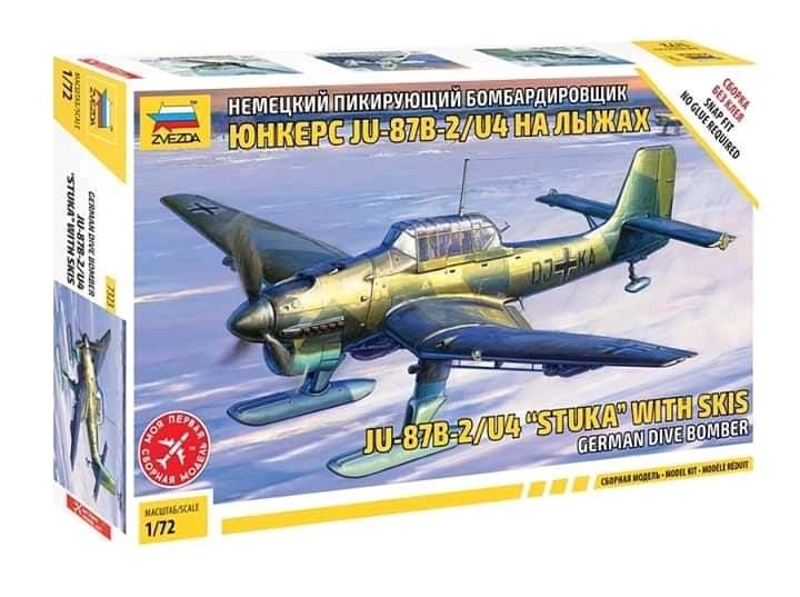 Ju-87 Stuka w/Ski 1/72