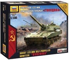 122-mm Gvozdika 1/100