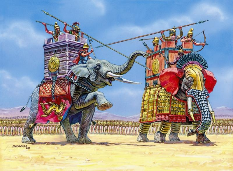 War Elephants 1/72