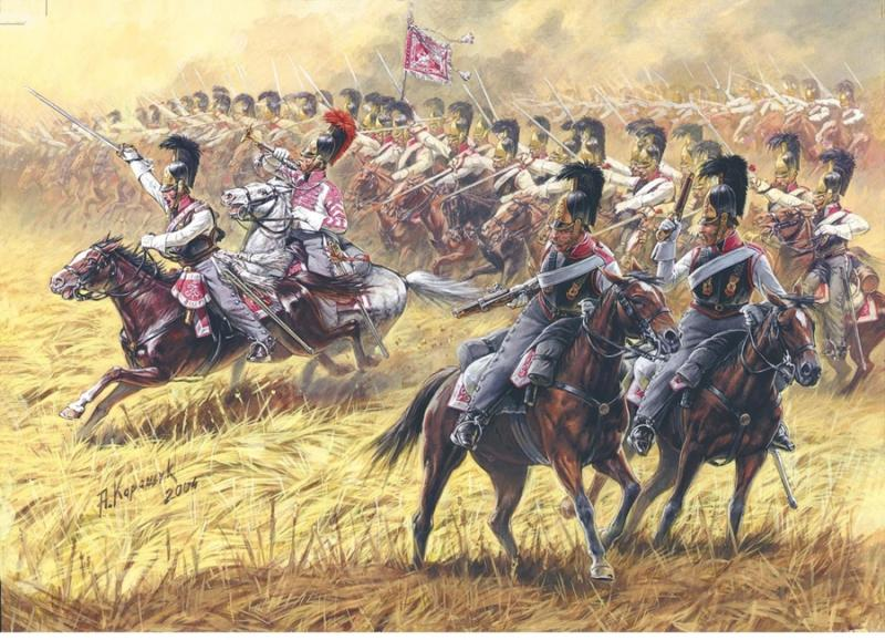 Russian Cuirassiers 1812-1814 1/72