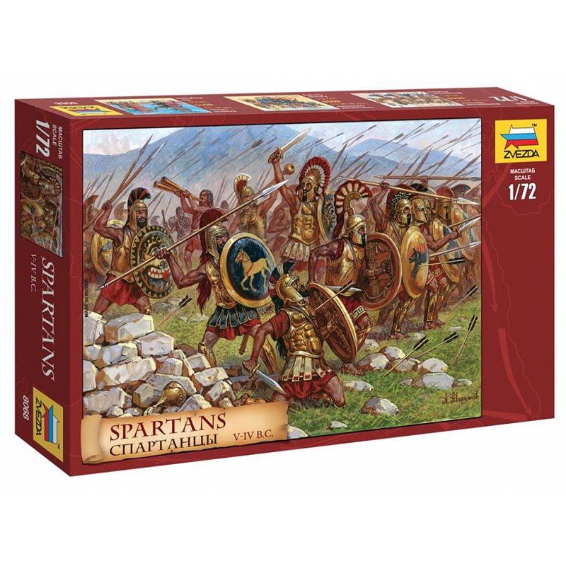 Spartans V - IV B.C. 1/72