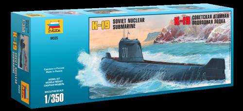 K-19 Soviet Nuclear Submarine 1/350