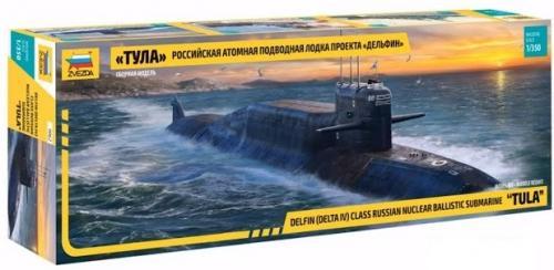 Russian Nuclear Ballistic Submarine Tula 1/350