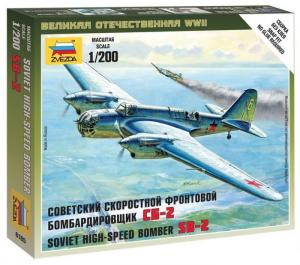 Soviet High Speed Bomber Sb-2 SNAP 1/200
