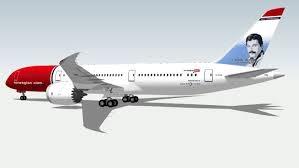 Boeing 787-9 Dreamliner incl. Norwegian Freddy Mercury 1/144
